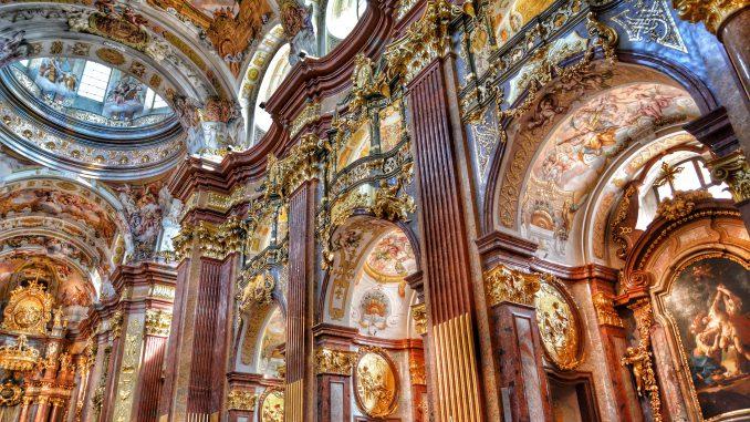 Barok behangpapier
